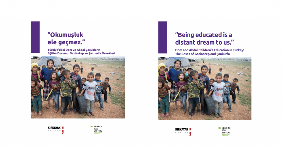 Kırkayak Kültür, Türkiyeli/Suriyeli Dom ve Abdal çocukların eğitime erişim durumu raporunu yayınladı.