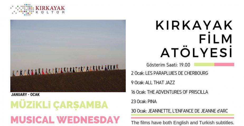 Kırkayak Kültür Film Atölyesi Ocak Ayı Programı Açıklandı